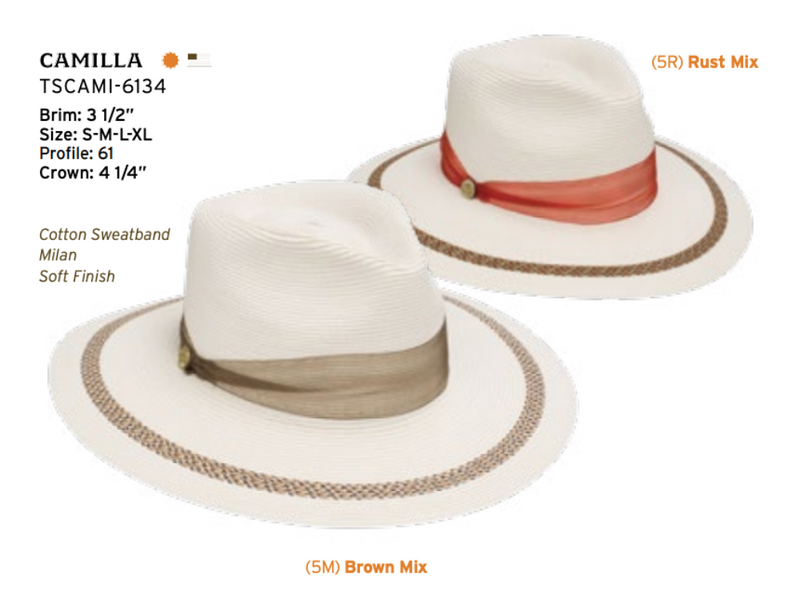 Camilla Ladies Milan by Stetson