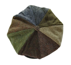 8 Piece Patchwork Cap by Hanna Hats (95B1)