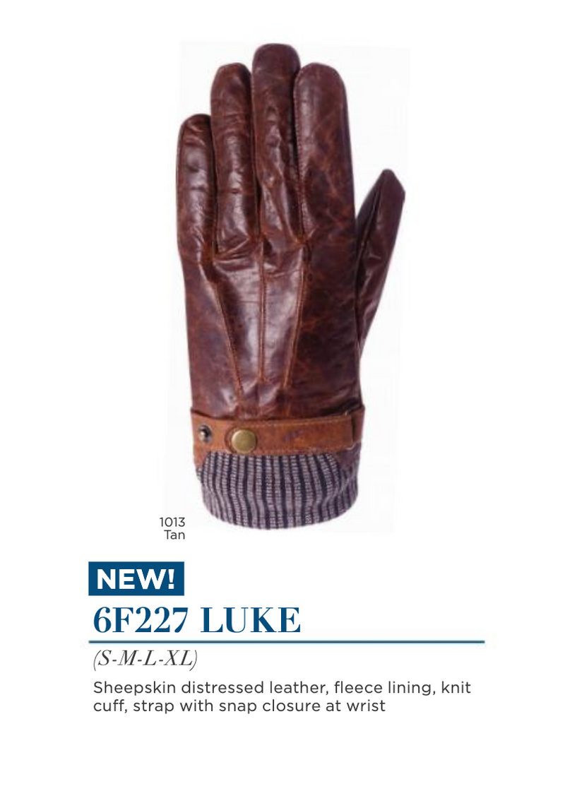 Mens' Luke Gloves by Auclair 6F227