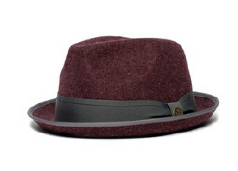 Solid Work stingy brim Fedora by Goorin Bros.