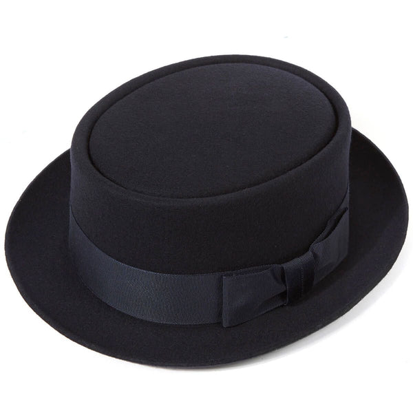 Pork Pie Wool Felt Hat by Christys' of London
