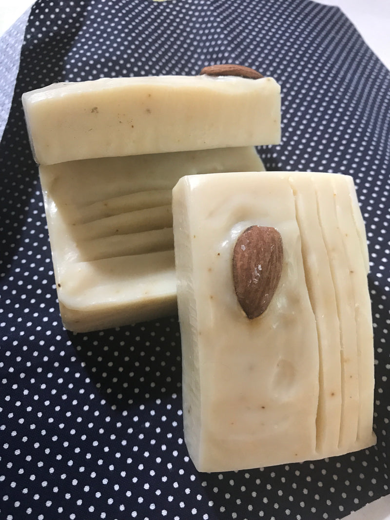 Almond Naturally- vegan luxury facial soap