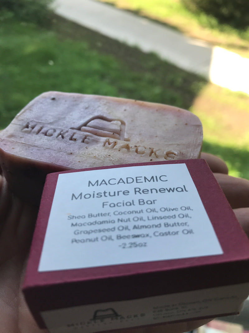Macademic - Vegan Moisture Renewal Facial Bar