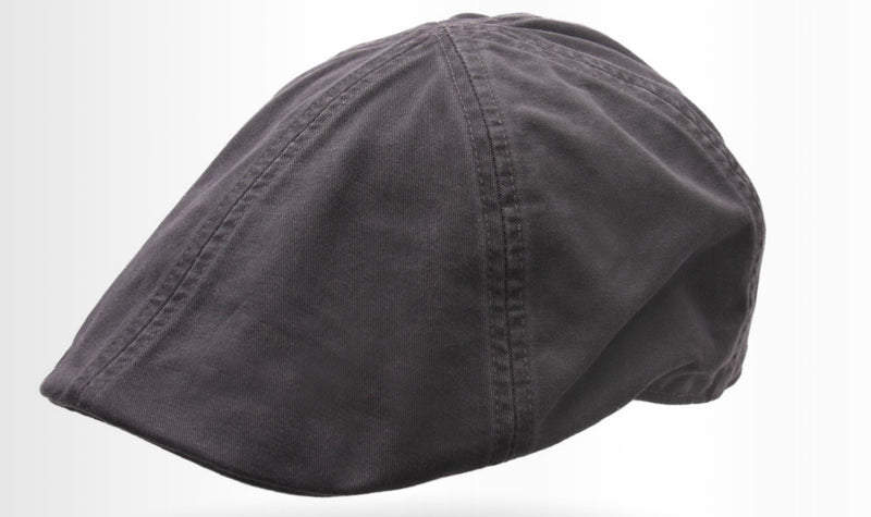Brentford Linen Flat Cap by Göttmann -Colour Anthracite 18 (22-487)