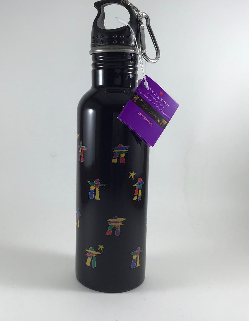 Inukshuk water bottle by Oscardo