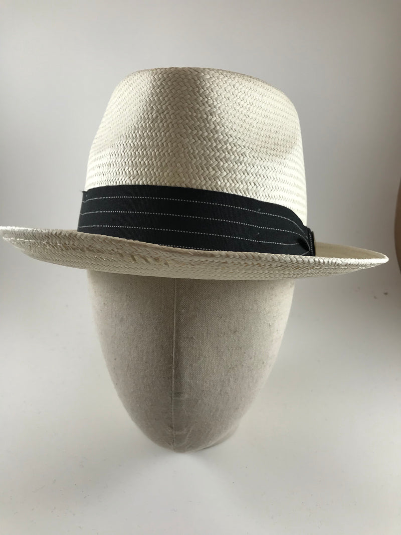 Snare straw fedora by Goorin Bros.