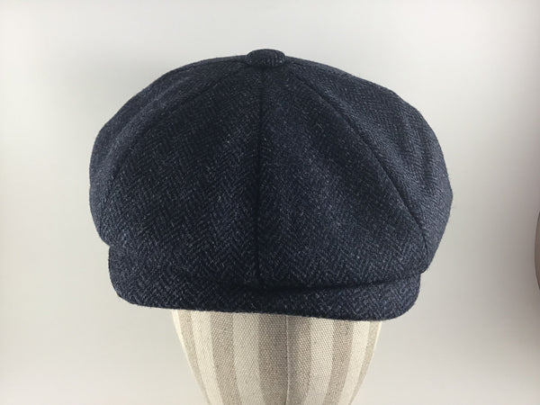 8 Piece Baker Boy Tweed Cap by Christys'