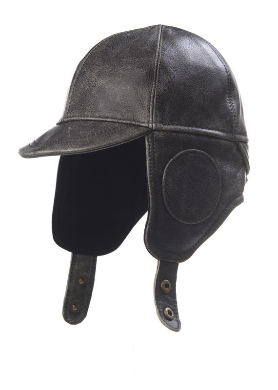 1-9631 vintage leather aviator by Crown Cap