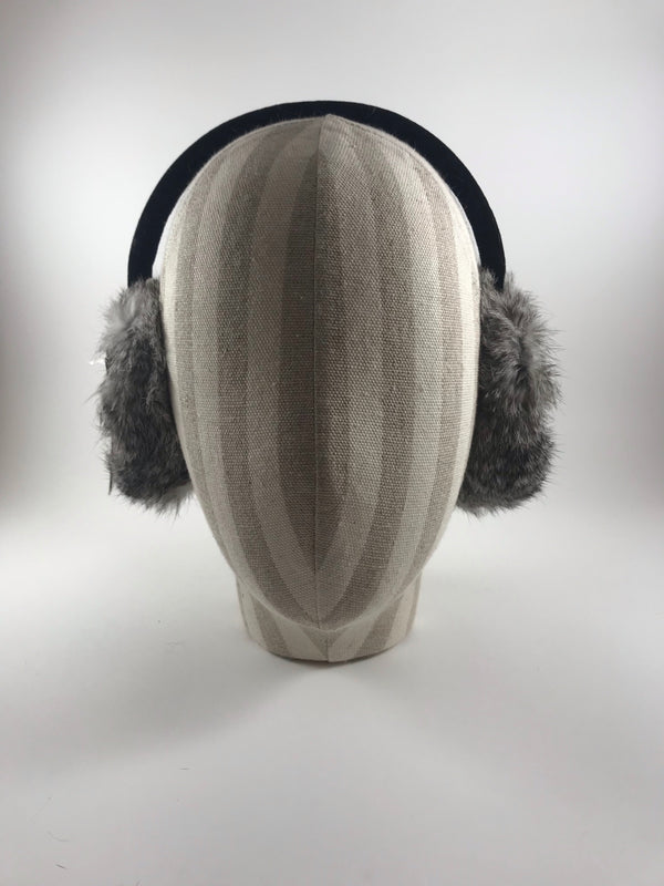 Wool/Rabbit ear muffs by Crown Cap