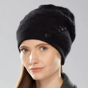 Mercury Leather Toque by Olena Zylak