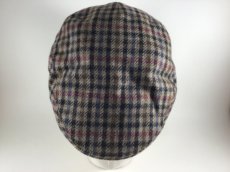 Clark-K Flat Cap Brown Multicolour 23 by Göttmann