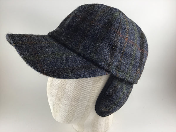 Monaco Baseball Cap Navy Plaid 50 by Göttmann