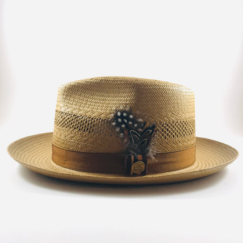 Back Bay Vented Shantung Fedora by Stetson