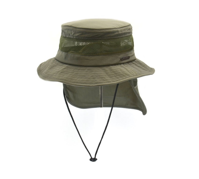 Bucket Hat w/ Mesh by Crown Cap