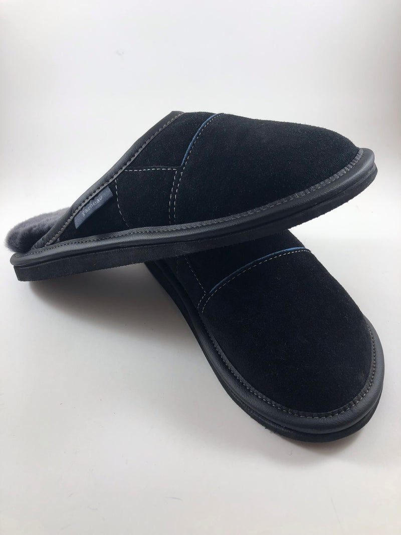 Hard sole slip-on slippers by Garneau