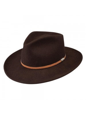 Haynes Crushable Teardrop fedora by Stetson