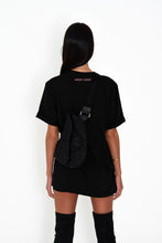 OVERSIZED RETRO LOGO TEE - BLACK