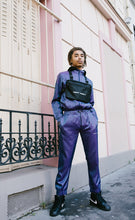 NIGHT ADDICT IRIDESCENT PURPLE TRACKSUIT