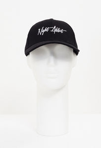 NIGHT ADDICT SCRIPT LOGO HAT