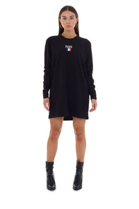 LONG SLEEVED 'PARIS' T-SHIRT DRESS