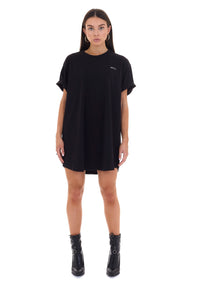 OVERSIZED 'OFFLINE' T-SHIRT DRESS