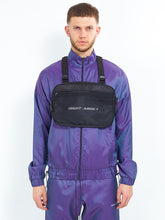 NIGHT ADDICT IRIDESCENT PURPLE ZIP THROUGH FRONT