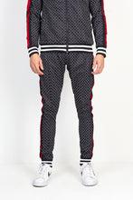 TECHNICAL TRACK PANTS - DIAMOND PRINT