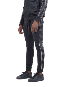 TECHNICAL TRACK PANTS - STITCH PANEL