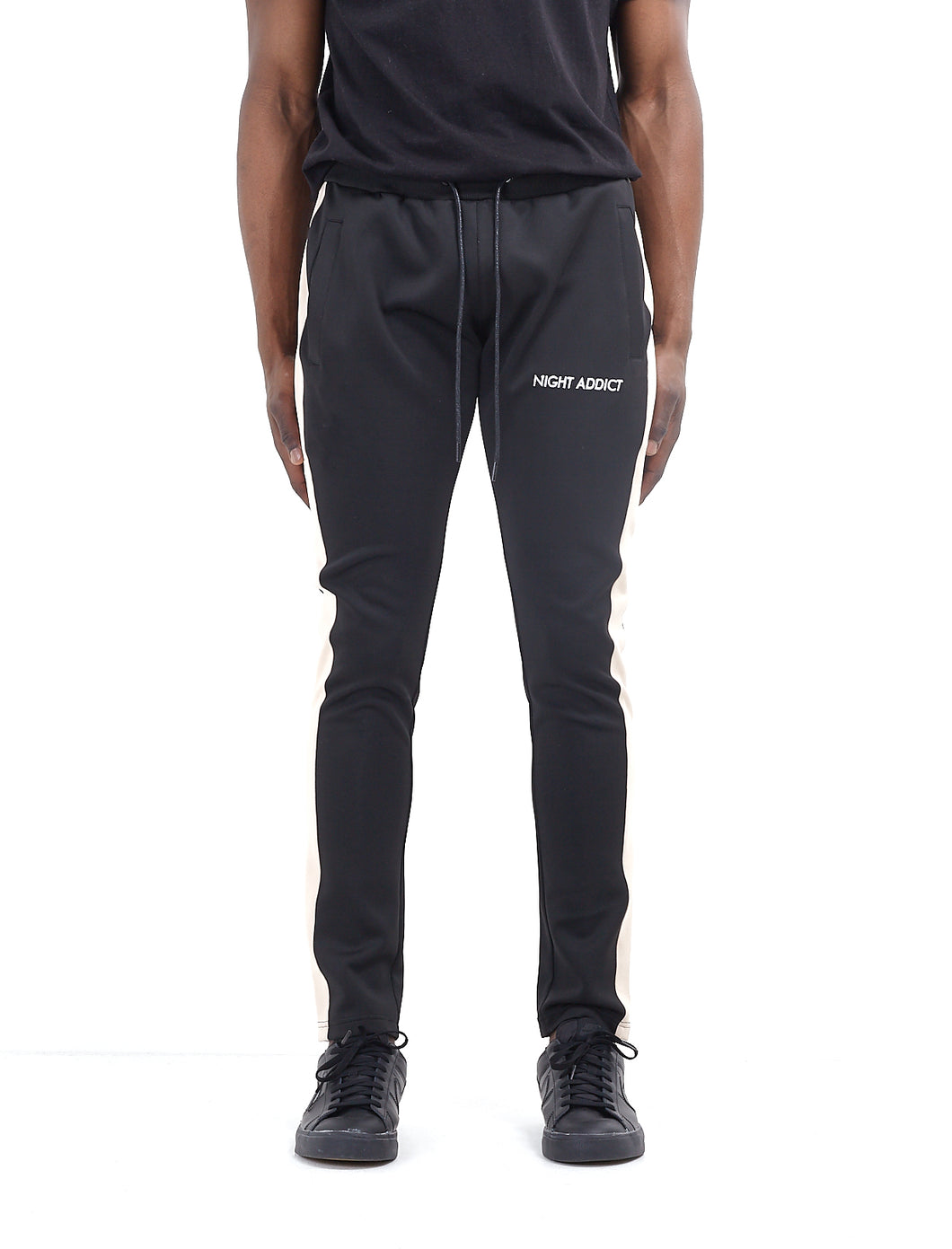 TECHNICAL TRACK PANTS - BLACK