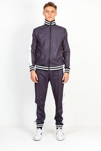 NIGHT ADDICT GREY CHECKERBOARD PRINT TRACKSUIT