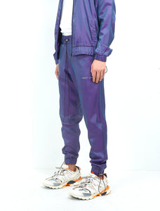 NIGHT ADDICT IRIDESCENT PURPLE JOGGERS SIDE