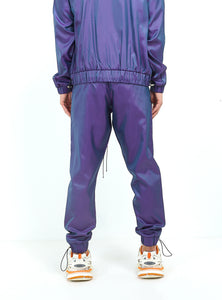 NIGHT ADDICT IRIDESCENT PURPLE JOGGERS BACK