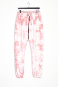 NIGHT ADDICT PINK TIE DYE JOGGERS