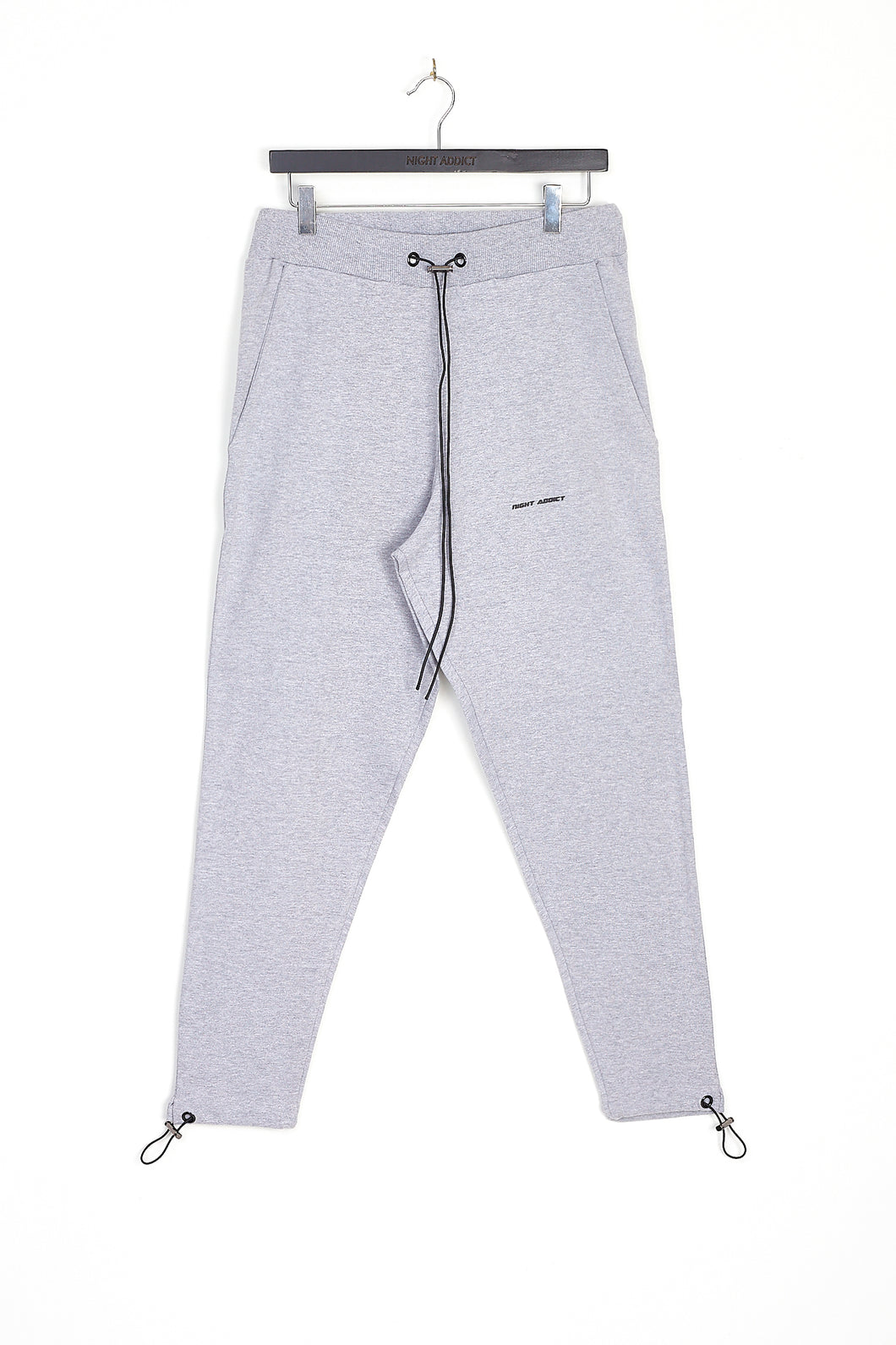NIGHT ADDICT GREY CORE JOGGER FRONT
