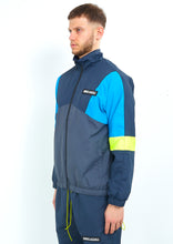 NIGHT ADDICT RETRO COLOUR BLOCK TRACK JACKET SIDE