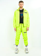 NEON TRACK JACKET - YELLOW