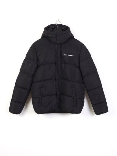 OVERSIZED PUFFER JACKET - BLACK