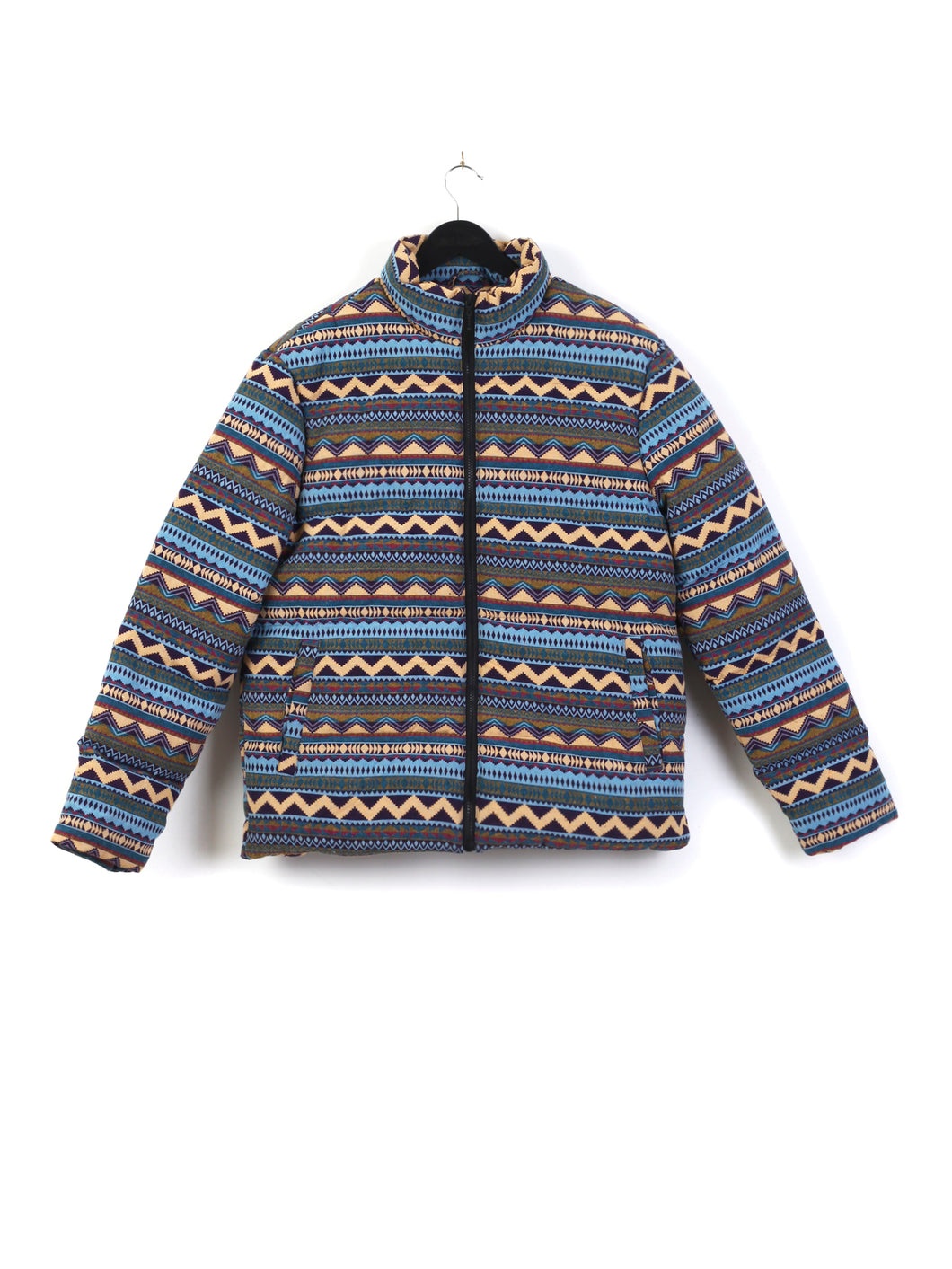 OVERSIZED PUFFER JACKET - TAPESTRY
