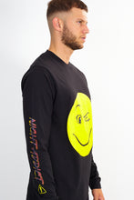 NIGHT ADDICT LONG SLEEVE SMILE TEE