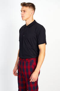NIGHT ADDICT OVERSIZED POLO SHIRT