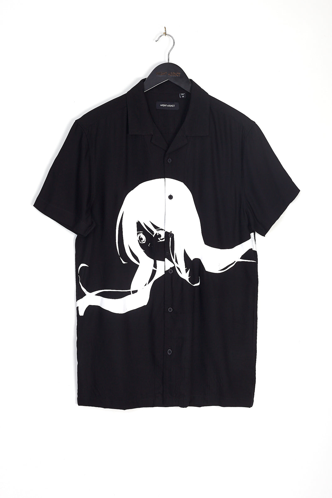 NIGHT ADDICT OVERSIZED ANIME PRINT SHIRT
