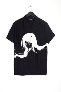 OVERSIZED ANIME PRINT SHIRT