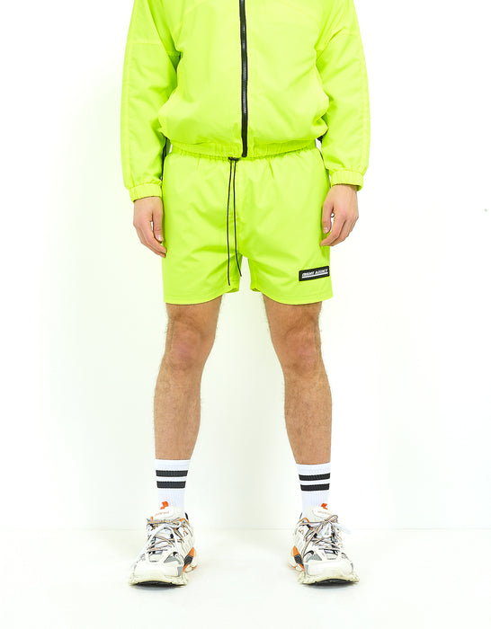 NIGHT ADDICT NEON SHORTS - YELLOW