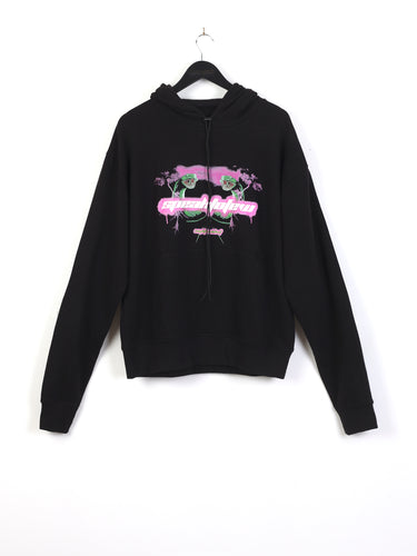SPEAK TO FEW HOODIE - BLACK