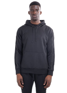 TECHNICAL TRACK TOP - BLACK WITH ROPE