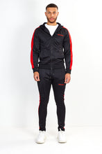 TECHNICAL TRACK TOP – BLACK WITH RED