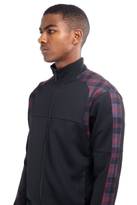 NIGHT ADDICT TECHNICAL TRACK TOP - RED CHECK PANEL