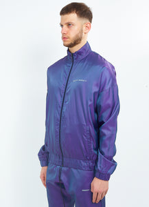 NIGHT ADDICT IRIDESCENT PURPLE ZIP THROUGH SIDE