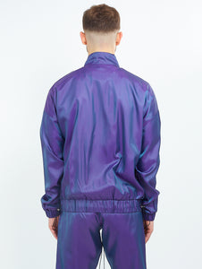 NIGHT ADDICT IRIDESCENT PURPLE ZIP THROUGH BACK