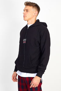 NIGHT ADDICT OVERSIZED 'LONDON' HOODIE – BLACK